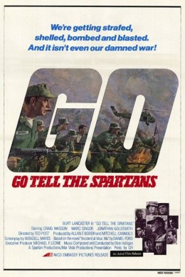 Theatrical Poster for Go Tell The Spartans