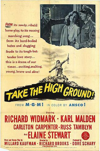 Theatrical Poster for Take the High Ground!