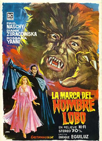 Theatrical Release Poster for The Mark of the Wolf Man