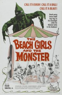 Theatrical Poster for The Beach Girls and the Monster
