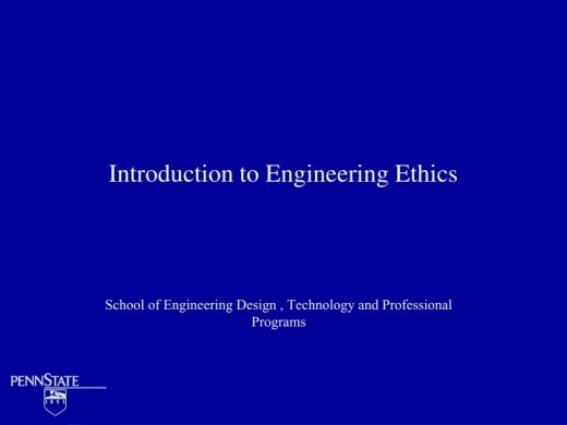 Much about Engineering Ethics