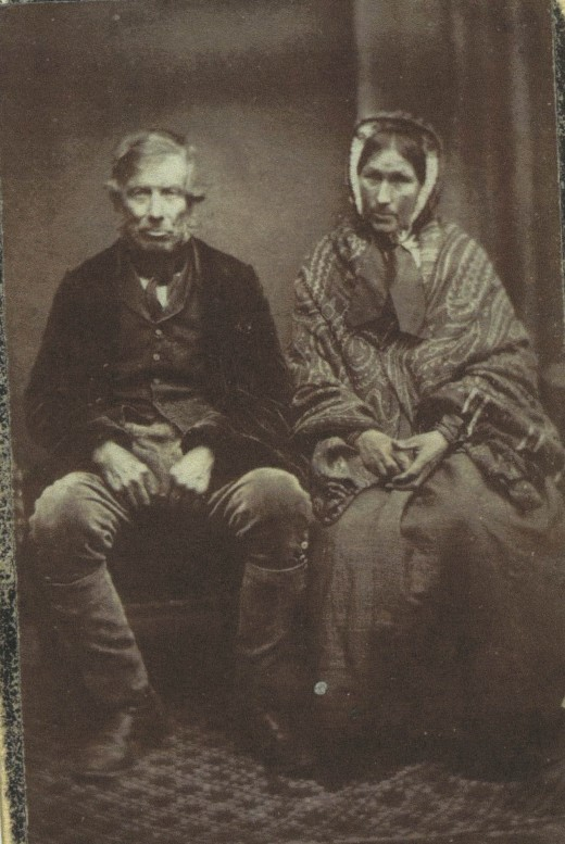 A simple Google search brought up this image of my 3xgreat-grandparents, and helped me connect with a relative who had tons of information to share.