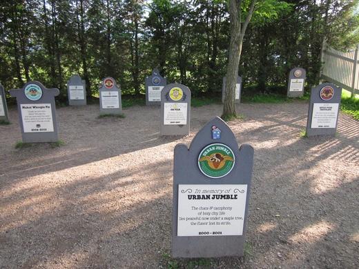 Ben & Jerry's Flavor Graveyard; Waterbury, Vermont