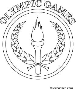Olympics Coloring Design