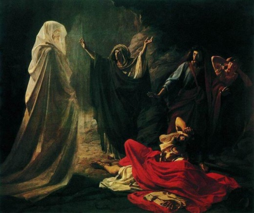 The Witch of Endor is a soothsayer mentioned in the Bible.