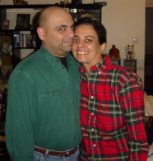 Anita and her husband Danny