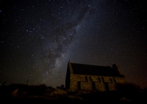 Night Sky - Lake Tekapo