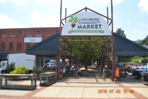 The City Market is a great example of providing a service to locals by allowing the use of vacant space for a marketplace everyone can use.