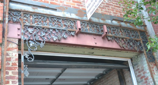 Making quality Wrought Iron is an art form in itself, and there are still a few examples along the way on Main Street.