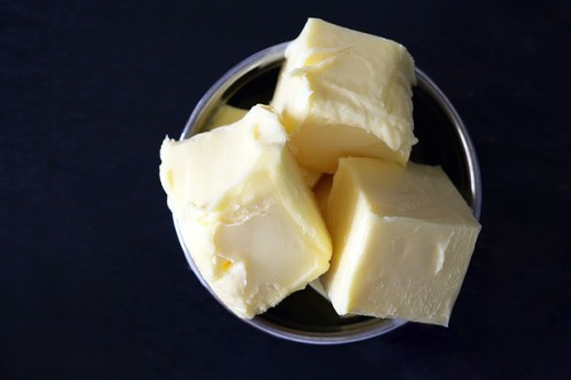 For best results, use cold butter.  Don't let the butter sit out before using it.