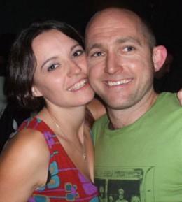 Geraldine and her new man, Luke
