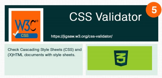 Useful to check css errors.