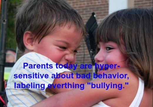 "If a child is being mean, he needs guidance and understanding. Labeling him a ""bully"" only hurts him more."