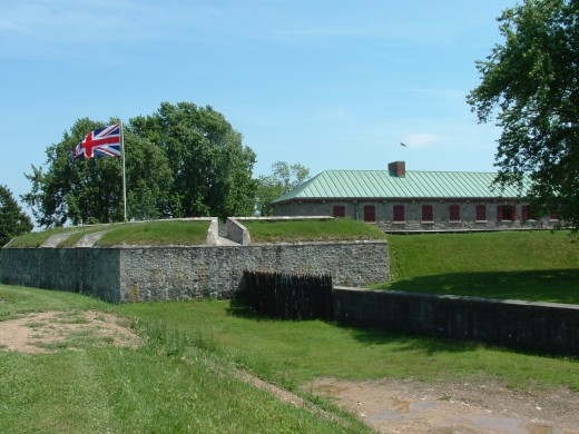 Fort Erie at the Canadian end of Peace Bridge.