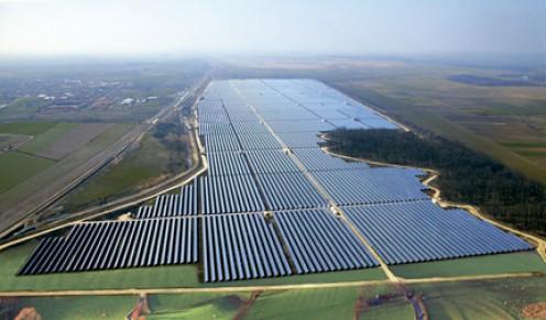 A SunEdison solar plant.