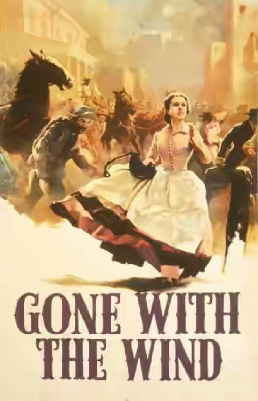 Posture of the movie Gone With the Wind