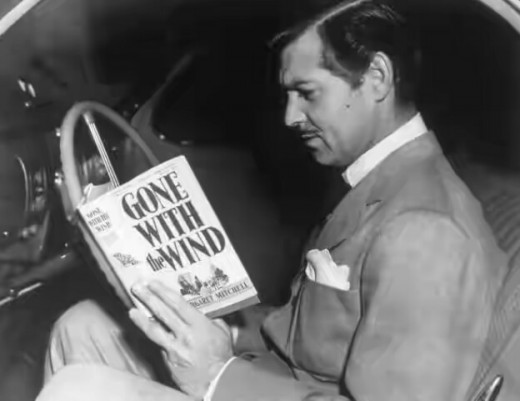 Clark Gable having a glance