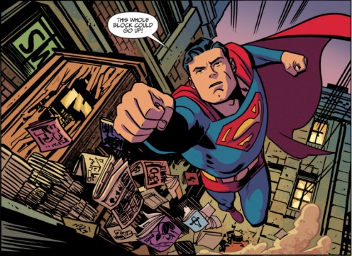 This could soon change if DC Comics has their way to make Superman less Super