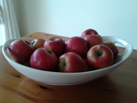 Apples are a must as a part of a healthy diet.