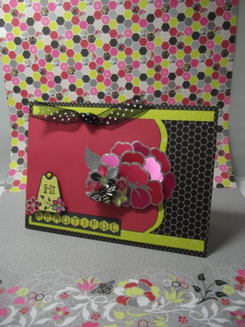 Card made by Fabrizio Martellucci using HOTP paper pack and sketch by Pagemaps