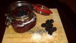 Summer Blackberry & Raspberry Chia Seed Jam