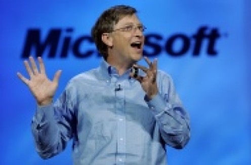 Bill Gates, founder of Microsoft is the most-important businessman in our world
