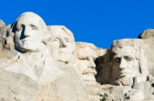 Mt. Rushmore, our nation's most-important mountain monument