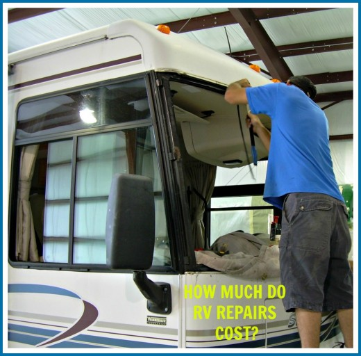 Repairing an RV can cost a great deal of money.