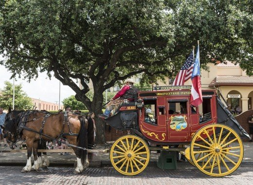 Catch a ride on a stagecoach while in Indiana.