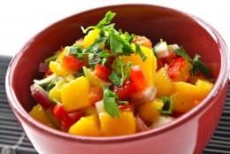 Tomato/Mango Salsa