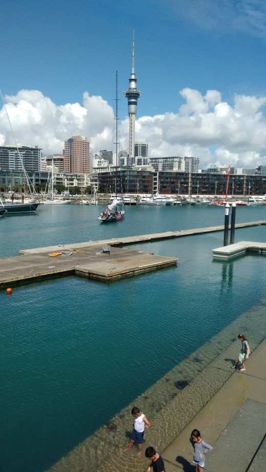 Auckland is the 'City of sails' and this is one of the best things to do there, Sailing a real Americas cup boat