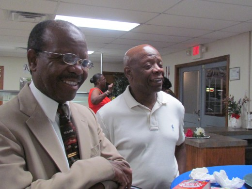 My brothers Wardell and Wendell, also attended this MHS event.