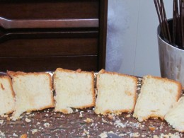 Delicious pound cake was also served by the caterers of this facility in Nichols, SC.