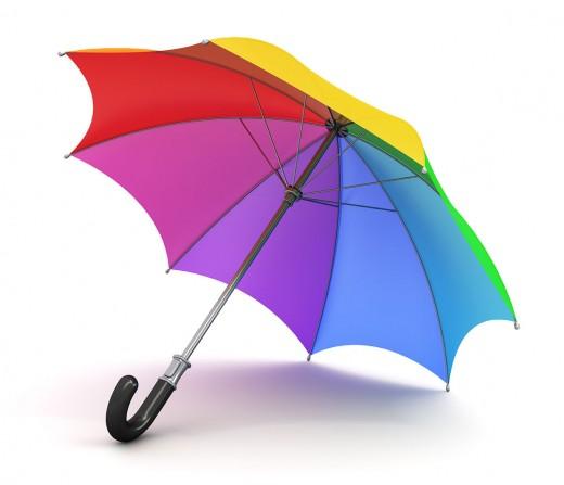 Umbrella is a must.