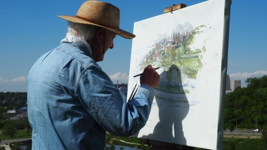 Painting Is Probably One of the Most Rewarding and Creative Hobbies in Retirement