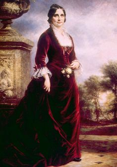 Official White House portrait of Lucy Hayes