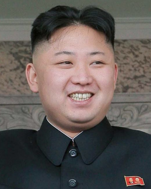 Bizarre and Buffoon - like leader of North Korea Kim Jong Un but perhaps not as stupid as some may think in the West.
