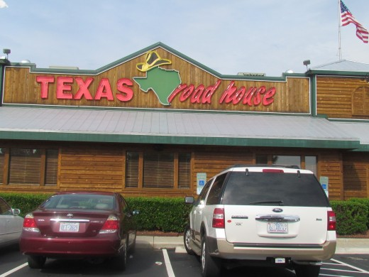 A photo of Texas Roadhouse in North Carolina, where the best steaks are served.