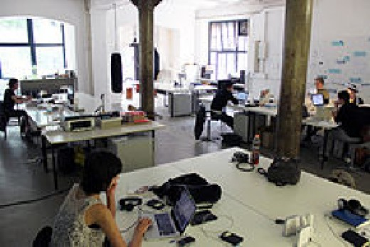 A coworking space in Berlin