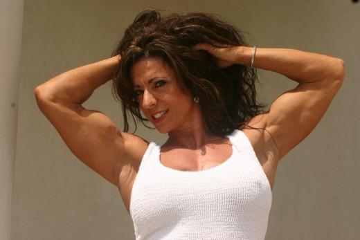IFBB Pro and fitness model Karen Zaremba