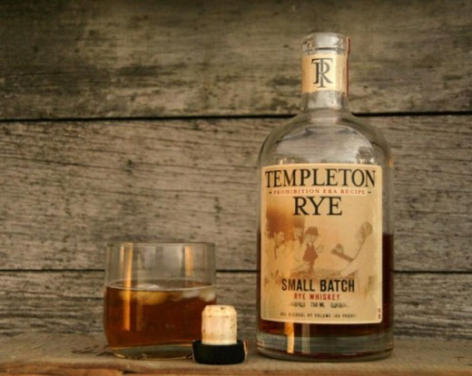 Al Capone's favorite drink was the Templeton Rye Whiskey. It was a sign of his lavish lifestyle in his early tenure as boss.