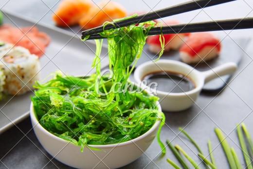 Sea Vegetables and Seafood