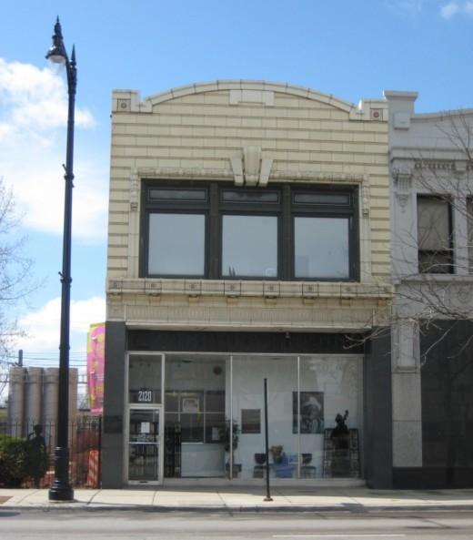 Chess Records studio at 2120 S. Michigan Ave.
