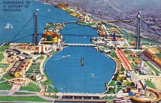 Postcard of the 1933 World's Fair