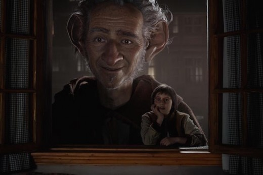 A creepy old man is peeking through a kid's window to watch him sleep?  Am I the only one that thinks this scene might be a bit disturbing?