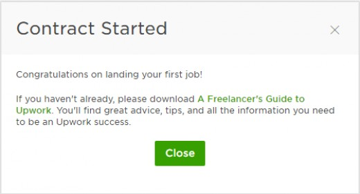 How to Accept a Job Offer on Upwork