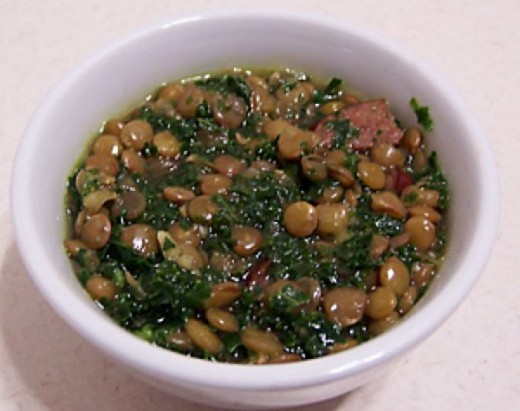 Healthy Kale and Lentil Soup