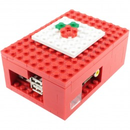 A lego Raspberry Pi case