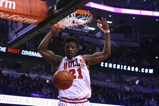 "Jimmy G Buckets off a ""PG and J"" lob. You know what the G stands for."