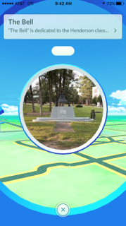 University campuses offer plenty of landmarks that are Poke Stop locations.